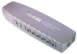 SLx Amplificateur d'antenne 6 sorties avec by-pass numérique (Import Royaume Uni)