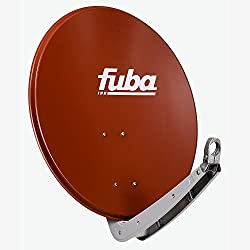 Fuba 11004012 Antenne Satellite Beige, Rouge