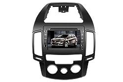 ChiLin pour (2007-2011)Beijing-Hyundai i30 Manual (China)/ Hyundai i30 CW Manual (Wagon)/Elantra Touring Manual (Wagon in USA and Canada)Haute tactile double-DIN Lecteur DVD & Dash Dans le systššme de navigation, GPS, Bluetooth, Radio, iPhone / iPod Controls, Commandes au volant