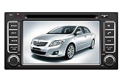 ChiLin pour Toyota Universal Haute tactile double-DIN Lecteur DVD & Dash Dans le systššme de navigation, GPS, Bluetooth, Radio, iPhone / iPod Controls, Commandes au volant