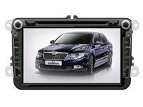 ChiLin pour Volkswagen Polo Haute tactile double-DIN Lecteur DVD & Dash Dans le systššme de navigation, GPS, Bluetooth, Radio, iPhone / iPod Controls, Commandes au volant