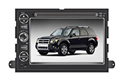 ChiLin pour pourd Freestyle( 2005-2009) Haute tactile double-DIN Lecteur DVD & Dash Dans le systššme de navigation, GPS, Bluetooth, Radio, iPhone / iPod Controls, Commandes au volant