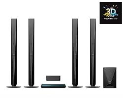 SONY Ensemble Home Cinema 3D BDV-E6100 + Adaptateur audio Bluetooth AEA2000/12 + Télécommande universelle Simple 4 URC 6440